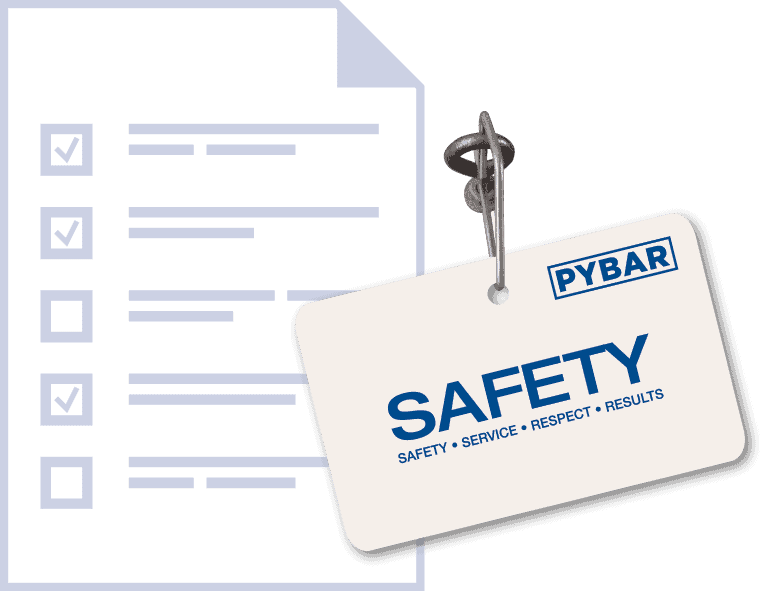 PYBAR Safety Tag